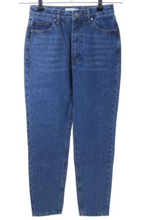 Edited Hoge taille jeans blauw casual uitstraling