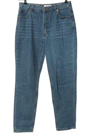 Edited Jeans a vita alta blu stile casual
