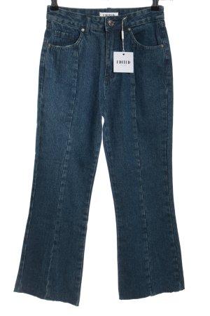 Edited High Waist Jeans blau Casual-Look