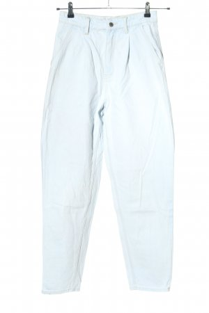 Edited Jeans taille haute bleu style décontracté