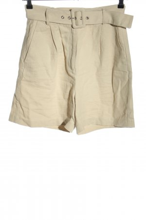Edited High-Waist-Shorts creme Casual-Look
