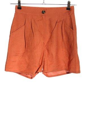 Edited High-Waist-Shorts light orange casual look