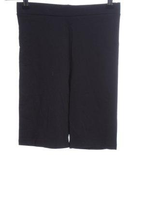 Edited High-Waist-Shorts schwarz Casual-Look