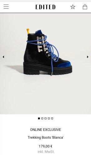 Edited influencer trekking boots