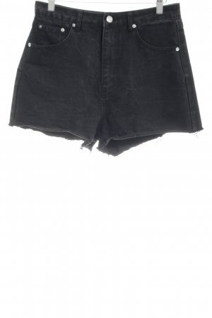 Edited Jeansshorts schwarz Casual-Look