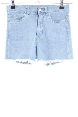 Edited Jeansshorts blau Casual-Look