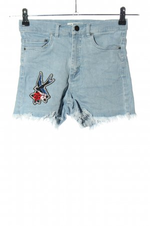 Edited Jeansshorts blau Casual-Look