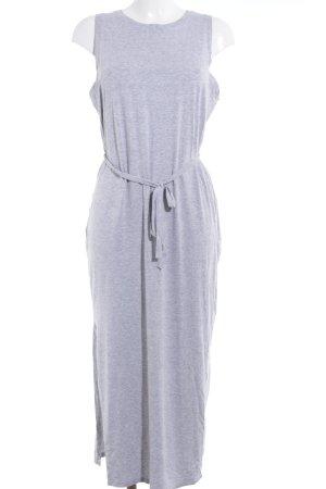 Edited Jerseykleid grau-hellgrau sportlicher Stil