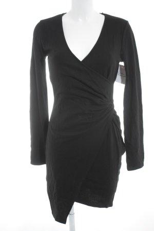 Edited Jerseykleid schwarz Elegant