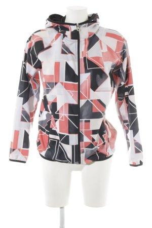 Edited Kapuzenjacke abstraktes Muster extravaganter Stil