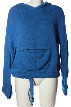 Edited Kapuzenpullover blau Casual-Look