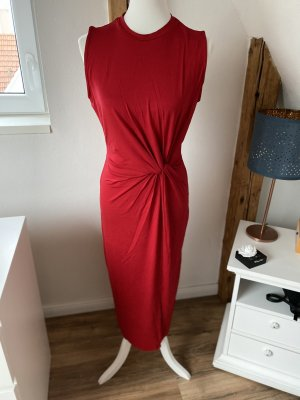 Edited Kleid mit Knoten in Chilli Pepper Red