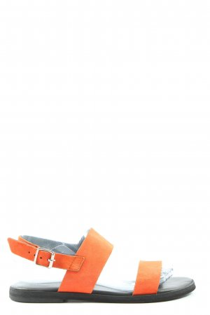 Edited Sandalo comodo arancione chiaro stile casual