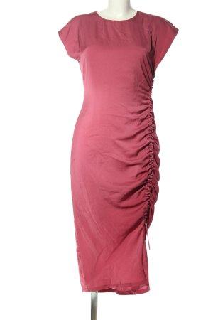 Edited Abito a maniche corte rosa stile casual