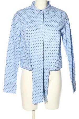 Edited Langarm-Bluse blau Casual-Look