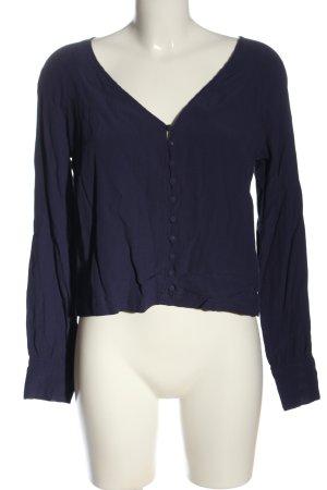 Edited Langarm-Bluse lila Casual-Look
