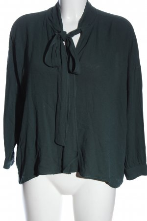 Edited Langarm-Bluse grün Casual-Look
