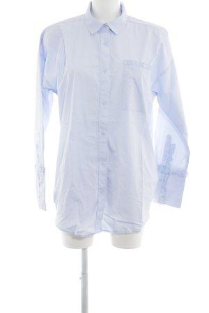 Edited Langarm-Bluse himmelblau Elegant