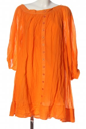 Edited Langarmkleid hellorange Casual-Look