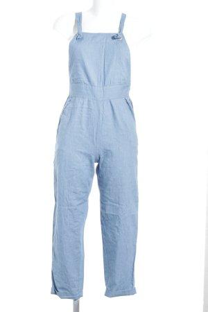 Edited Latzhose himmelblau Jeans-Optik