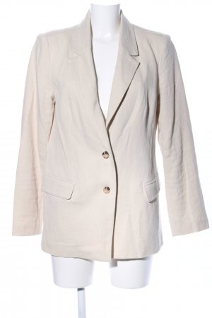 Edited Long-Blazer wollweiß Casual-Look