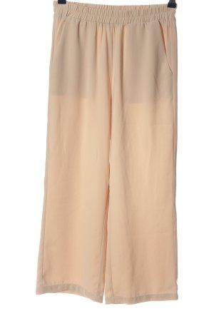 Edited Spodnie Marlena nude W stylu casual