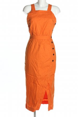 Edited Midikleid hellorange Casual-Look