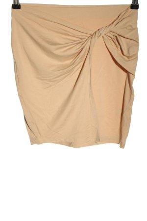 Edited Mini rok nude gestippeld casual uitstraling