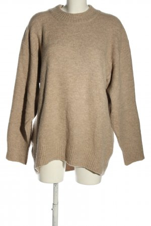 Edited Oversized Pullover wollweiß meliert Casual-Look