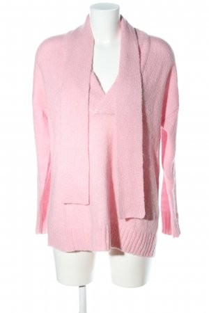 Edited Oversized Pullover pink Casual-Look