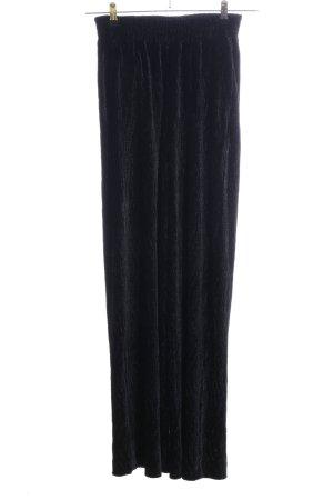 Edited Pantalone palazzo nero stile casual