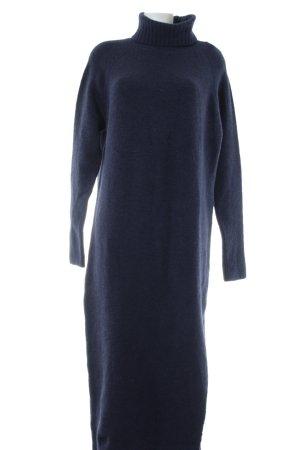 Edited Pulloverkleid blau Allover-Druck Casual-Look