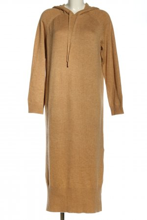 Edited Sweater Dress brown flecked casual look