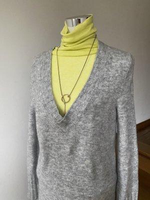 Edited Pulloverkleid hellgrau meliert Casual-Look