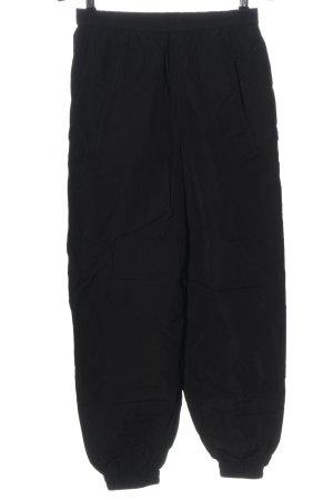 Edited Pantalon large noir style décontracté
