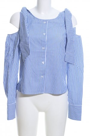 Edited Slip-over Blouse blue-white striped pattern casual look