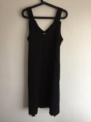 *Edited* schwarzes Midi Kleid, breite Träger