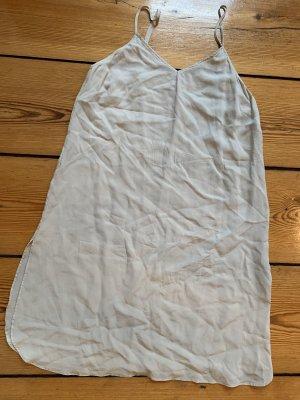 EDITED Seidenkleid Top in Beige aus Seide S Träger-Dress