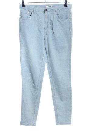 Edited Skinny Jeans blau Casual-Look