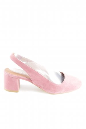 Edited Slingback Pumps pink casual look