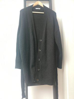 Edited Cappotto a maglia nero