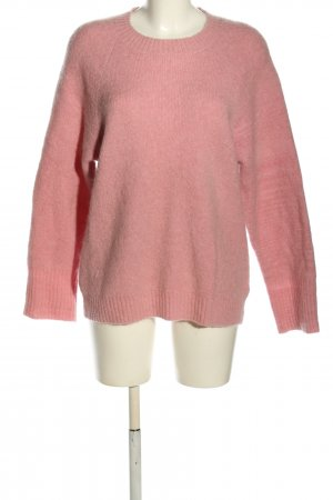 Edited Strickpullover pink meliert Casual-Look