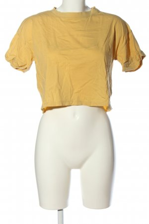 Edited T-Shirt blassgelb Casual-Look