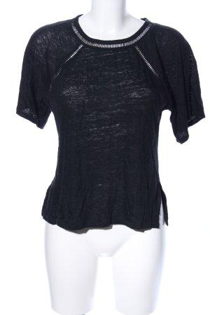 Edited T-Shirt schwarz Casual-Look