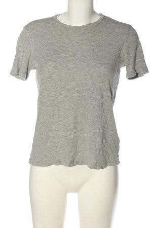 Edited T-Shirt hellgrau meliert Elegant