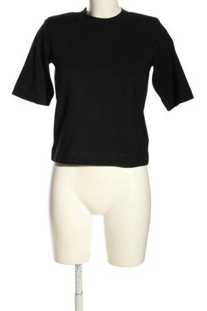 Edited T-Shirt black casual look