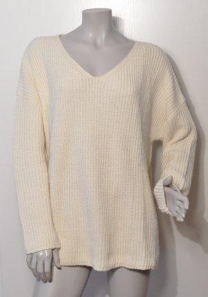 EDITED – Pullover mit Streifenmuster – Offwhite