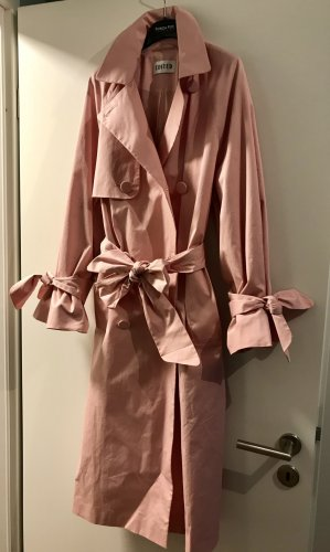 EDITED the label Trenchcoat Helena in rosa