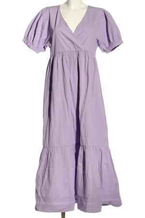 Edited Flounce Dress lilac casual look