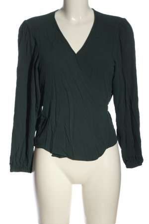 Edited Wraparound Blouse green casual look